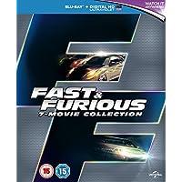 Fast & Furious 1-7 (Blu Ray)