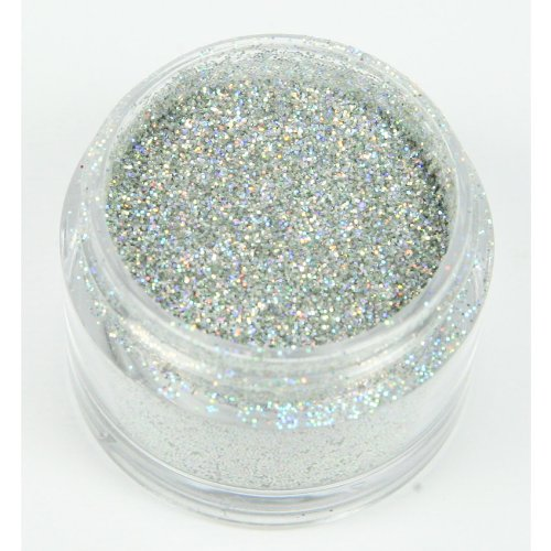 Schillerndes Dekorations Glitzer: Silber Hologram / Holly Cupcakes Decorating Glitter: Silver Hologram
