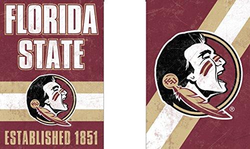 Wincraft Snack-Schale Florida State Seminolen Garten Flagge, Vintage Edition 31,8x 45,7cm 2-seitige -