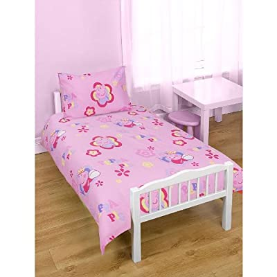 Peppa Pig Junior Cot Duvet Bed Set Princess Peppa