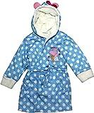 Peppa Pig Mädchen Bademantel * One Size Gr. 3-4 Jahre, blau