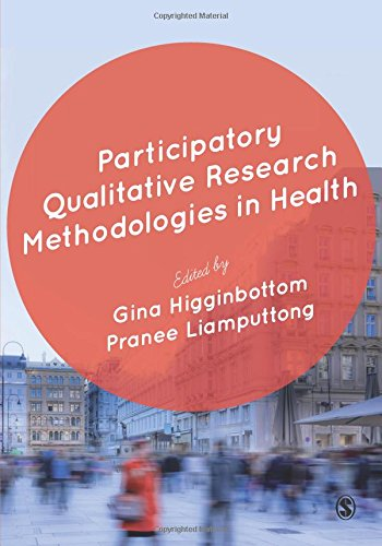 Cover des Mediums: Participatory qualitative research methodologies in health