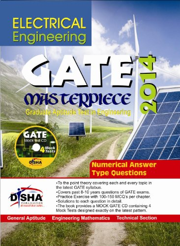 GATE Masterpiece Electrical Engineering Exam 2014 (With 4 Mock Test CD) (Old Edition) (Old Edition)