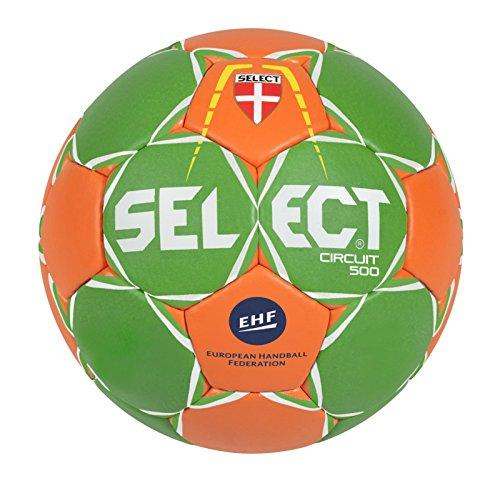 Select Circuit Gewichts-Handball, Grün/Orange/Weiß, 3-800 g