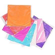 Linternas de cielo 10pcs Technicolor Shape Mix OVNI Globo Linternas Lámpara de papel de fuego cielo para la fiesta de bodas de deseo