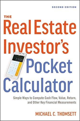 The real estate investor's pocket calculator