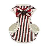 DOGZI Leine Elastische Hundeleine Kurzleine - Haustier Hund Brustgurt Print Muster Hals Brustgürtel Comfort Weste mit Glocke