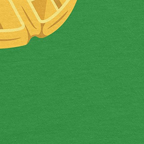 Planet Nerd Elfi's Waffles - Damen T-Shirt Grün