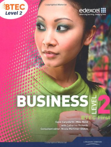 BTEC First Business Student Book (Level 2 BTEC First Business)