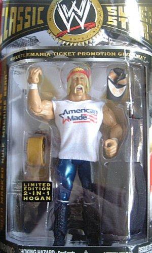WWE WRESTLEMANIA TICKET EXCLUSIVE AMERICAN MADE HULK HOGAN (Wwe Tickets)