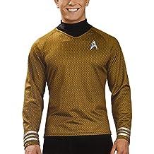 Disfraz–Camiseta oficial de Star Trek–Scotty/Kirk/Spock