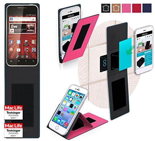 G Optimus Elite Tasche Cover Case Bumper | Pink | Testsieger ()