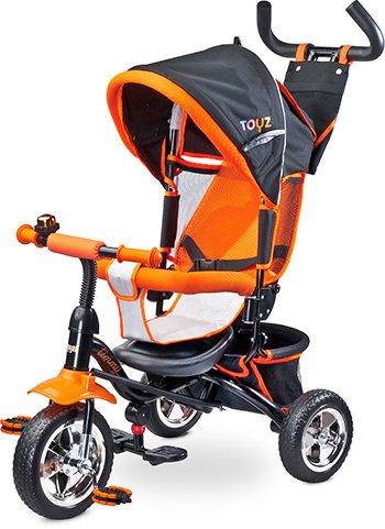 Triciclo silla giratoria modelo Timmy en naranja