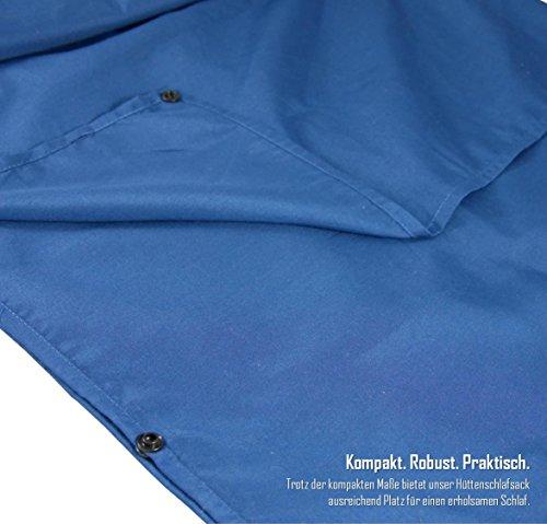 51oabo1J3DL - BeMaxx Sleeping Bag Liner + Pillow Inlet Outdoor – Compact, Lightweight Inlay | Summer Microfibre Bedroll | Space–saving…