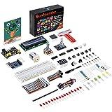 SunFounder Raspberry Pi Starter Kit Project for RPi 3B+ 3B 2B B+ A+ Zero Including GPIO Breakout Board Breadboard LCD DC Motor LED RGB Dot Matrix (mit Deutscher Anleitung)