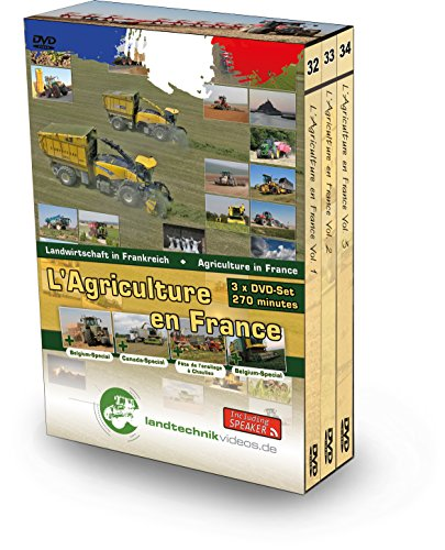 Pack 3 DVD L'Agriculture en France Vol. 1-2-3