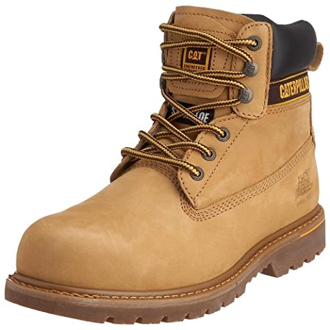CAT Footwear Holton, Men's Work and Safety Boots, Honey, 8 UK