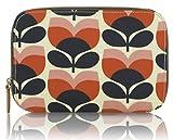 Orla Kiely Flower Stripe–Juego de brochas de maquillaje, diseño de