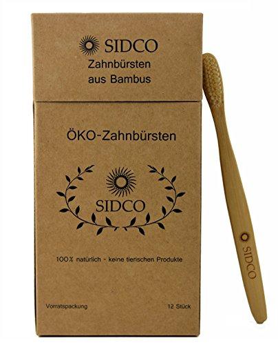 SIDCO Bambus Zahnbürste im 12er Pack - 3