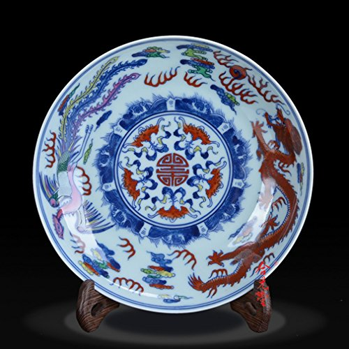 Antike Kupfer-zweig (L Y Jingdezhen Alten Porzellan Qing-Dynastie Reine Handgemachte Lotus Zweige Eimer Antike Antiquitäten Porzellan Handwerk,C)