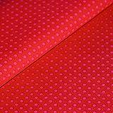 Punkte Baumwollstoff Meterware rot pink Tupfen Dots Deko