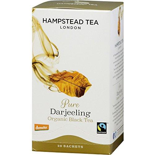 Hampstead Tea London Organic Darjeeling 20 Sachets tea bags