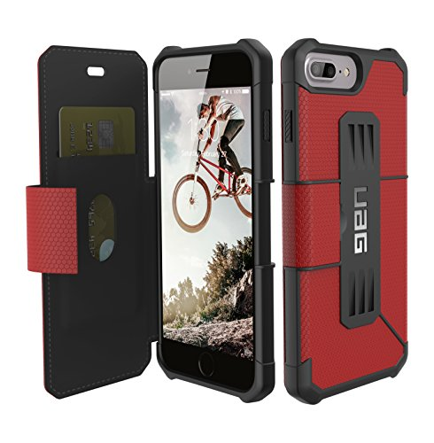 UAG iPhone 7 Plus  [5.5-inch screen] Metropolis Feather-Light Rugged [MAGMA] Military Drop Tested iPhone Case