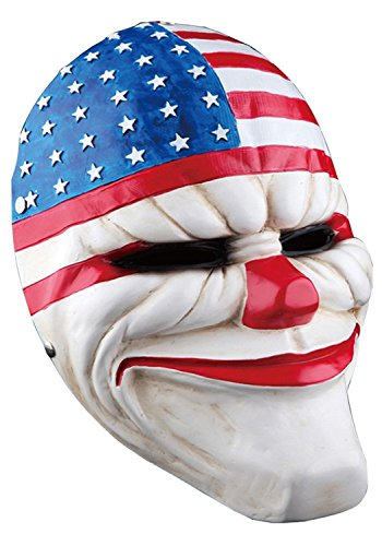 ShallGood Unisex Halloween Kostüm Maske Latex Maske Cosplay Lustig Horrible Stil Alle Heiligen Tag Anime Maske Scary Kaninchen Clown Monster #1 One Size
