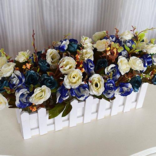 Beata.T creativi casa Decorazione simulazione fiori artificiali per Tavolo da pranzo Soggiorno Camera da letto, 27.5 centimetri
