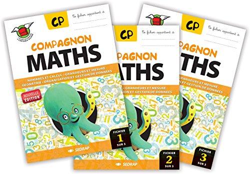 Compagnon Maths CP - Cle Activation + 10 Fichiers Papier