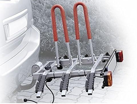 Neues Modell Anhängerkupplung montiert Kippen 3Bike Rack bis zu vier