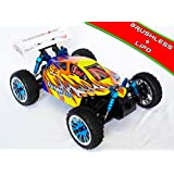 HSP - Coche RC Troian Buggy 1/16 Brushless 2,4Ghz Naranja y Plata - HSP94185TOP-03
