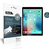 Apple iPad Pro 12,9 Zoll Schutzfolie matt - 2x dipos Glass Panzerfolie 9H Folie Antireflex Kunststoffglas