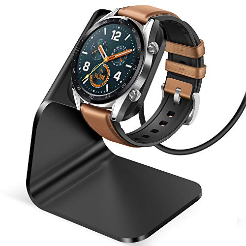 CAVN Ladegerät Kompatibel mit Huawei Watch GT 2 /GT/Honor Magic Watch Ladestation, (130cm/4.2ft) Ersatz USB Aluminium Ladekabel Schnellladegerät Lade Dock für Huawei Watch GT/GT 2 /Honor Magic Watch