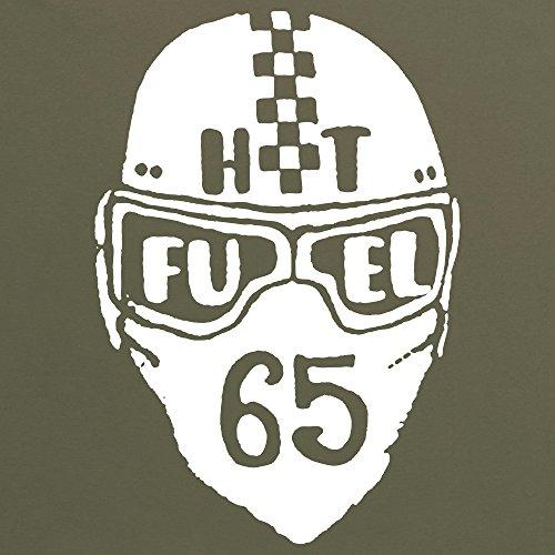HotFuel Helmet T-shirt, Uomo Verde oliva