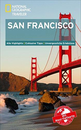 National Geographic Traveler San Francisco mit Maxi-Faltkarte