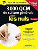 3 000 QCM de culture