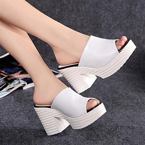 pengweiSandali donna pantofole alto-heeled estate 2