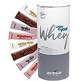 ACTIVEVITAL Whey-Protein-Pulver | 20 Portionen | Flave-Drops in Pulverform | Abnehmen-Shake-Mahlzeit-Ersatz | Neutral 450g aus Deutschland