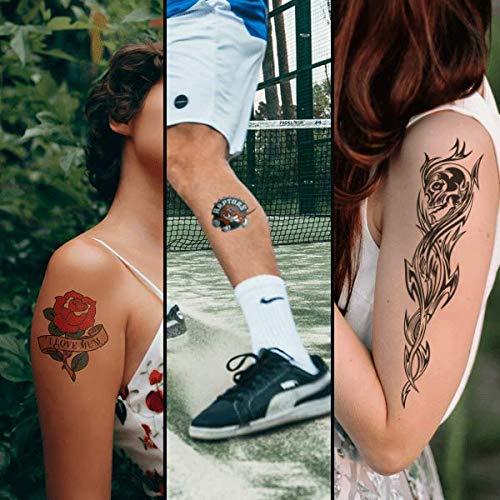 FOREVER temporäre Tattoo Transferfolie A4 für Laserdrucker