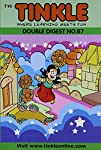 A Tinkle Double Digest is two Tinkle Digests in one volume. These include the best stories of Tinkle over the years.