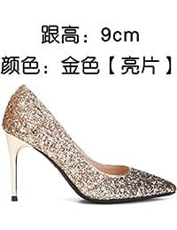 FLYRCX Moda personalidad sexy tacones altos tacones altos zapatos de tacón delgado de damas zapatos Zapatos del...