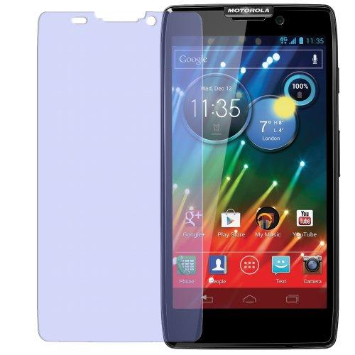 dipos I 2X Schutzfolie matt passend für Motorola Razr HD Folie Bildschirmschutzfolie