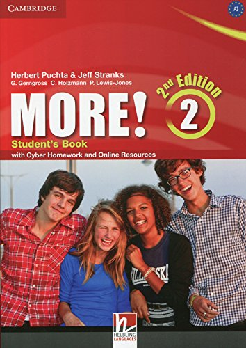 More! level 2 student's book with cyber homework and online resources second edition