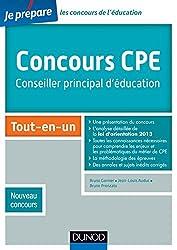 Concours CPE - Conseiller principal d'éducation - Tout-en-un - Nouveau concours