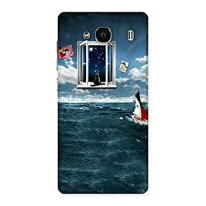 Delighted Water Wonder Back Case Cover for Redmi 2