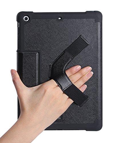Doppia Custodia Nera per iPad Air. Smart Case con Funzione