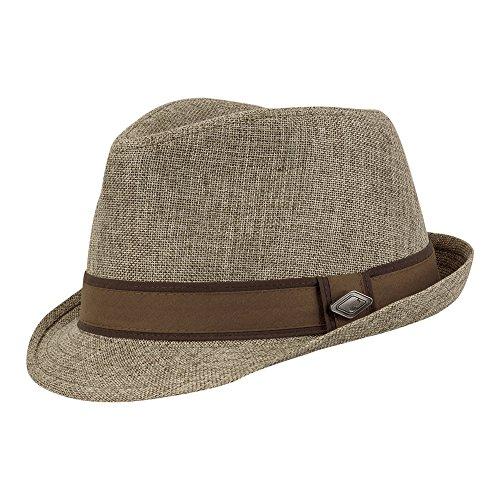 CHILLOUTS Herren Hut Sacramento Hat braun L/XL (60-61)