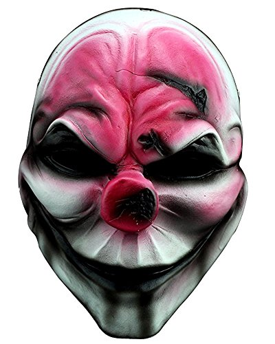 ShallGood Unisex Halloween Kostüm Maske Latex Maske Cosplay Lustig Horrible Stil Alle Heiligen Tag Anime Maske Scary Kaninchen Clown Monster #9 One Size