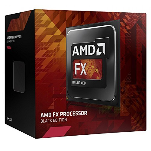 AMD FX-8350 Box Processore 4GHz, Socket AM3 +, 16MB di cache, 125 Watt